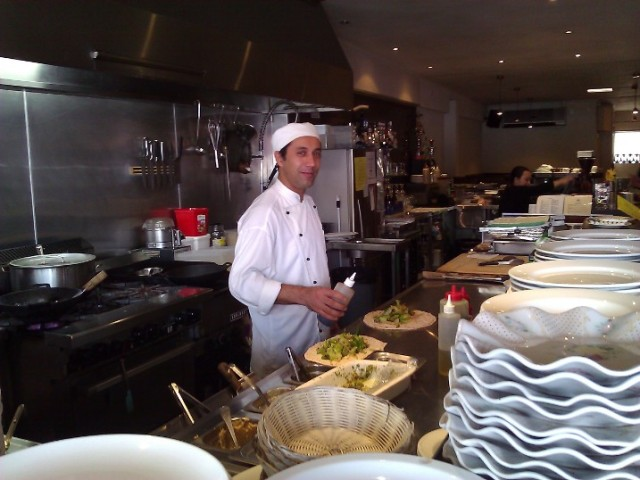 Turkish Cafe chef